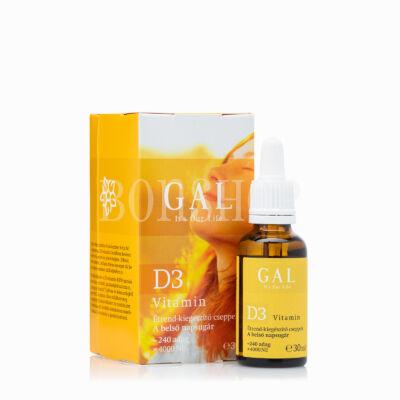 GAL D3 vitamin, 4000 NE x 240 adag