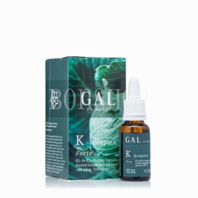 GAL K-komplex Forte vitamin, 1000 mcg K-komplex x 60 adag