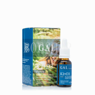 GAL K2-D3 Forte vitamin, 1000 mcg K-komplex + 4000 NE D3 x 60 adag
