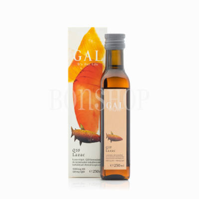 GAL Q10 koenzimes lazacolaj, 3300 mg Omega 3 + 100 mg Q10/evőkanál