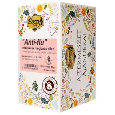 """Boszy """"Anti flu - megfázás ellen"""" filteres tea"""
