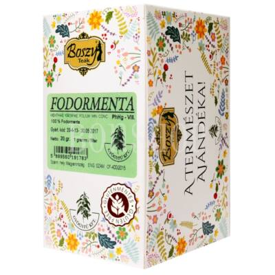 Boszy Fodormenta filteres tea