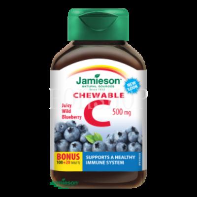 jamieson-c-vitamin-500-mg-kek-afonya-zu-szajban-oldodo-120-tbl