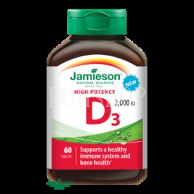 Jamieson D3-vitamin 2000 IU 60 tbl.