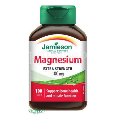 Jamieson Magnézium 100 mg 100x