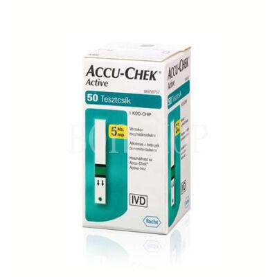 Roche Accu-Chek Active 50x tesztcsík - akciós ár, sérült külső csomagolás