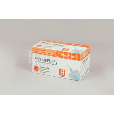 VeriFine Inzulinadagoló tollhoz használatos tű 100db - 31G x 8mm