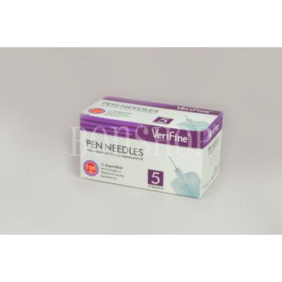 VeriFine Inzulinadagoló tollhoz használatos tű 100db - 31G x 5mm