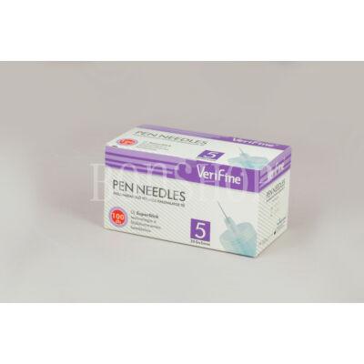 VeriFine Inzulinadagoló tollhoz használatos tű 100db - 32G x 5mm