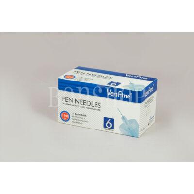 VeriFine Inzulinadagoló tollhoz használatos tű 100db - 32G x 6mm